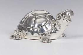 Shiny Silver Turtle