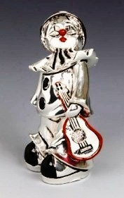 Silver Clown Pierrot