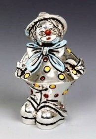 Silver Clown Ribbon
