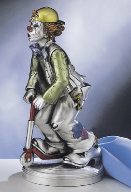 Silver Clown Scooter