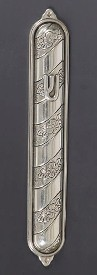Silver Mezuzah Case London
